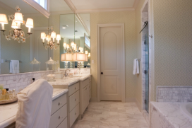Custom Home Bathroom Marble2